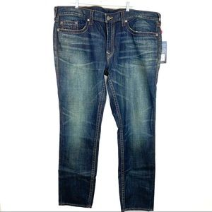 True Religion Geno No Flap Relaxed Slim Jeans